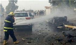 انفجار تروریستی در شهر بغداد