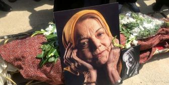 تصاویری از خاکسپاری هنرمند عزیز کشوران