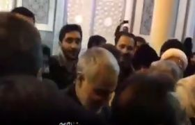 حضور سردار سلیمانی در حرم حضرت معصومه(س) /فیلم