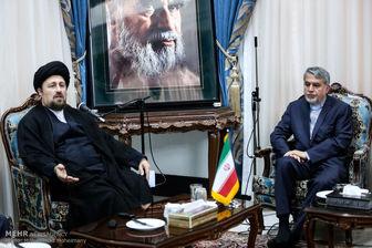 توصیههای سیدحسن خمینی به وزیر جدید ارشاد