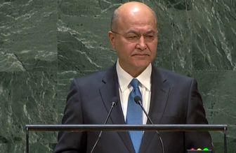 رئیسجمهور عراق: برای گسترش روابط با ایران در همه زمینهها تلاش میکنیم
