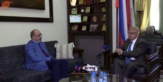 سفیر روسیه در لبنان: روسیه و حزبالله در سوریه در یک سنگر قرار دارند
