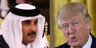 تماس تلفنی امیر قطر با ترامپ