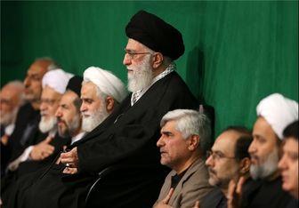 مراسم عزاداری اربعین حسینی(ع) در حضور رهبر معظم انقلاب اسلامی برگزار شد
