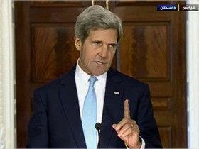 کری: موضع آمریکا در قبال ایران ضعیف نشده است