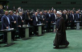 روحانی به مجلس میرود
