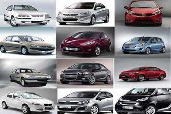 قیمت خودروهای داخلی در 29 مهر 99