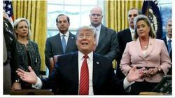 جلسه ترامپ و سران دمکراتها به تنش کشیده شد