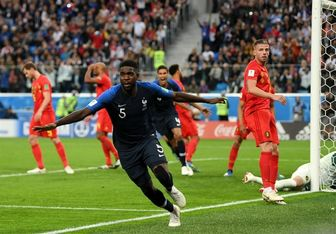بهترین بازیکن دیدار فرانسه و بلژیک مشخص شد