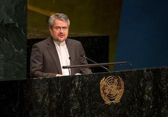 نماینده ایران در سازمان ملل: آمریکا هیچ حقی برای فلسطینیان قائل نیست