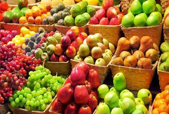 قیمت میوه پایین آمد