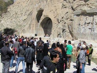 حضور بیش از 6700 گردشگر خارجی در استان کرمانشاه طی فصل بهار