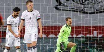 بدترین شکستهای تیم ملی فوتبال آلمان در بازیهای رسمی+ عکس