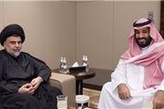 دیدار مقتدی صدر با ولیعهد عربستان
