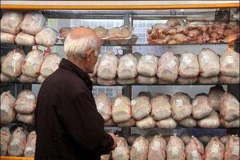 کاهش نرخ مرغ در بازار