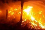 آتشسوزی یک واحد تولیدی 17 نفر را روانه بیمارستان کرد