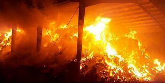 آتش سوزی منزل مسکونی در شهرک ولی عصر/ عکس