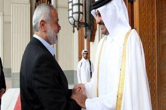 گفتگوی تلفنی «اسماعیل هنیه» با امیر قطر