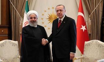 روحانی و اردوغان با یکدیگر دیدار کردند