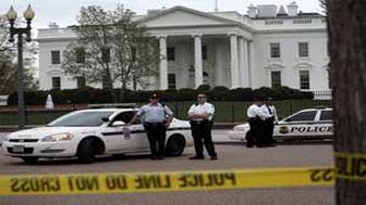 اطراف کاخ سفید در حالت منطقه جنگی