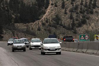 اعمال محدودیت ترافیکی در محورهای مواصلاتی مازندران