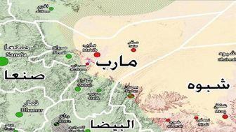مقر فرماندهی سعودیها زیر آتش یمنیها