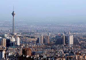متوسط تراکم جمعیت در تهران 20 برابر متوسط کشور است
