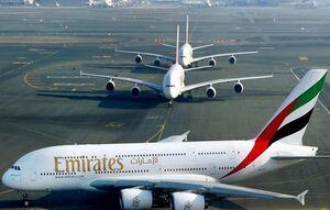 پرواز شرکتهای هواپیمایی امارات متوقف میشود