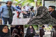 انتشار نخستین تصاویر از سریال تلویزیونی «تب و تاب»