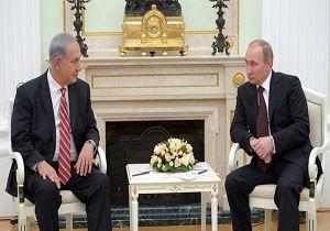 وقت ملاقات دادن پوتین به نتانیاهو سوژه رسانهها شد!