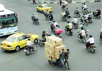 موتورسیکلتهای پایتخت ساماندهی می شوند