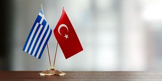 برخورد قاطع نیروی دریایی ترکیه با یک کشتی یونانی-قبرسی