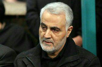 حضور سردار سلیمانی در جمع راهپیمایان کرمانی /عکس