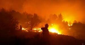آتشسوزی در فرودگاه بغداد