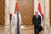 رایزنی ولیعهد ابوظبی با رئیسجمهور مصر