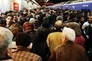 افزایش آمار مسافران مترو در تهران