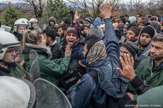 وضعیت نگرانکننده پناهجویان در مرز مشترک ترکیه و یونان