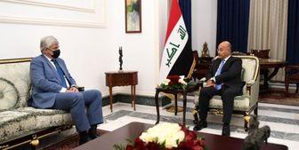 دیدار رئیسجمهور عراق با سفیر روسیه