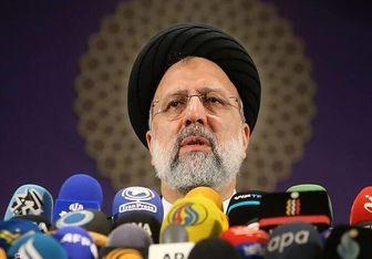 بازدید آیت الله رئیسی از بیمارستان میلاد تهران