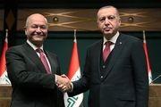 دیدار اردوغان و صالح در استانبول