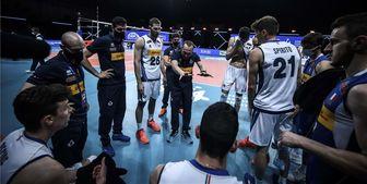 سرمربی والیبال ایتالیا: تا آخرین لحظه جنگیدیم