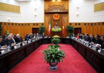 سفر روحانی به ویتنام لطف آیتالله خامنهای به مردم کشورم است