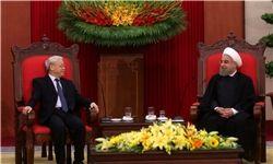 جزئیات دیدار روحانی با دبیرکل حزب کمونیست ویتنام