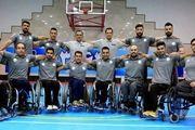 پیروزی تیم ملی بسکتبال با ویلچر ایران مقابل استرالیا