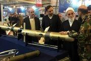 بازدید ناطق نوری از نمایشگاه دستاوردهای نظامی در مصلای امام خمینی(ره)