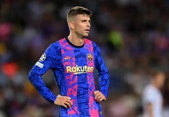ناامیدی جرارد پیکه از احتمال قهرمان نشدن بارسلونا