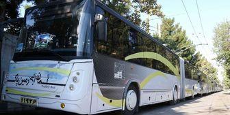 ۲ خط اتوبوس برقی در تهران راه اندازی شد