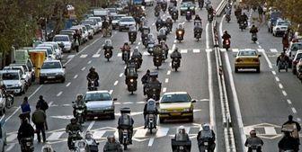 جولان موتورسیکلتهای فرسوده در تهران