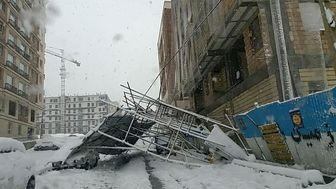 وقوع حادثه در خیابان امام حسین(ع)