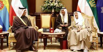 سفر وزیر خارجه قطر به کویت و تحویل پیام «تمیم»